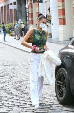 Bella Hadid Leaving her apartment in NYC