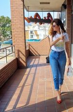Blanca Blanco Treats her self to Chin Chin in Los Angeles