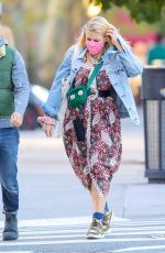 Busy Philipps Taking a stroll with her husband Marc Silverstein and their pup in New York City