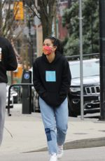 Camila Mendes Out for a morning walk in Vancouver