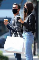 Camila Morrone In Tight jeans out in West Hollywood
