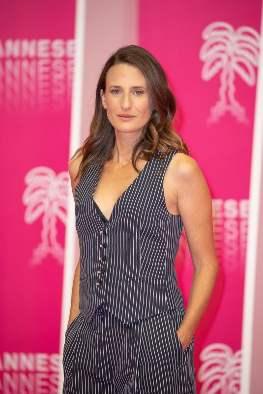 Camille Cottin Attends the 3rd Canneseries International Series Festival in Cannes