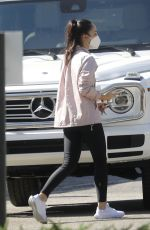 Cara Santana Pictured leaving the gym after a Monday morning workout session in Beverly Hills