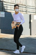 Cara Santana Shows off her toned physique after leaving a gym session in West Hollywood