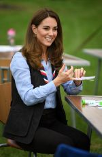 Catherine Duchess of Cambridge Visits a Scout Group in Northolt, Northwest London