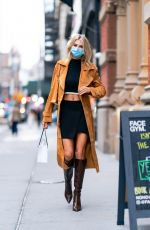 Charlotte McKinney Out shopping in New York