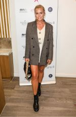 Chloe Meadows At Beauty Brand Hollywood Browzer celebrates Breast Cancer in London