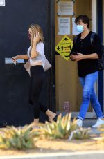 Chrishell Stause All smiles as she heads out of dance practice in Los Angeles
