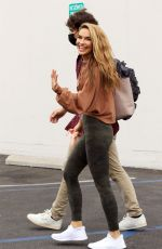 Chrishell Stause All smiles as she leaves the DWTS studio in Los Angeles