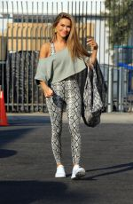 Chrishell Stause Arriving at the DWTS studio then seen heads out after finish her dance practice in Los Angeles