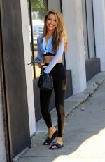 Chrishell Stause Heads into the DWTS studio in Los Angeles