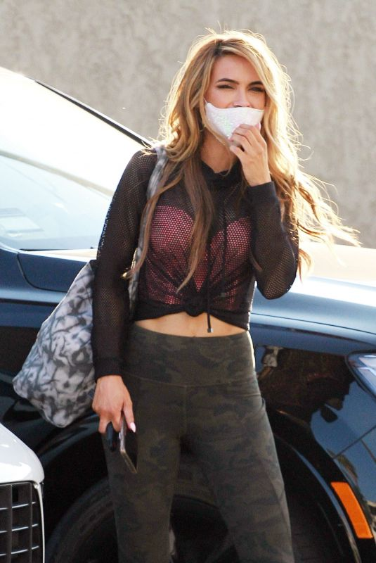 Chrishell Stause Seen leaving the DWTS studio with Gleb Savchenko after their dance practice in Los Angeles