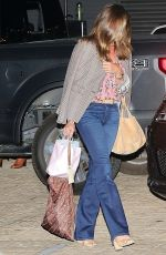 Cindy Crawford Enjoys a night out with her girls in Malibu