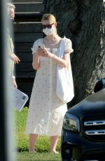 Dakota & Elle Fanning At house hunting in Burbank