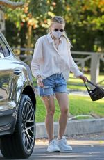 Dakota Fanning Out and about in LA