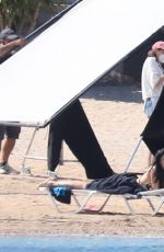 Dakota Johnson On the set of The Lost Daughter in Spetses, Greece