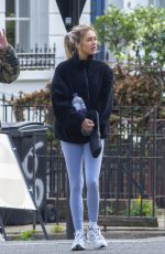 Delilah Hamlin Seen leaving Gym