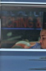 Demi Lovato Stopped at In-and-Out before heading to the market to pick up some supplies