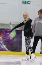 Denise Van Outen Pictured training today for ITV hit show