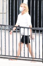 Diane Kruger On the set of Swimming With Sharks in Los Angeles