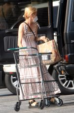 Diane Kruger Out doing grocery shopping at Bristol Farms in Los Angeles