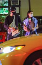 Dua Lipa And Anwar Hadid share a few kisses as they grab dinner in New York