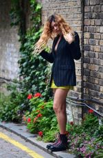 Eliza Doolittle At a photoshoot in London