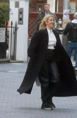 Ellie Goulding Is all smiles spotted around London