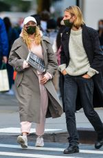 Elsa Hosk Spotted out after lunch in downtown Manhattan