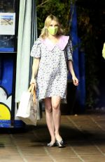 Emma Roberts Out for dinner in Hollywood