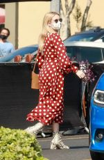 Emma Roberts Out running errands in Los Angeles