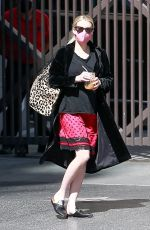 Emma Roberts Pictured running errands in Beverly Hills
