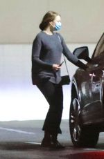 Emma Stone Heading to an appointment in LA