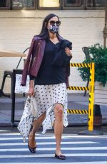 Famke Janssen Keeps her style on point while out in New York