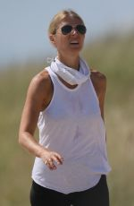 Gwyneth Paltrow Getting some exercise in the Hamptons