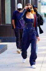 Hailey Bieber Out in NYC