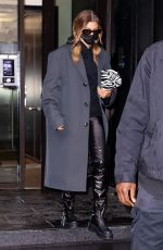 Hailey Bieber Seen out & about in New York City