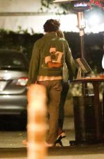 Harry Styles & Zoey Deutch Exiting a restaurant after a dinner date in Los Angeles