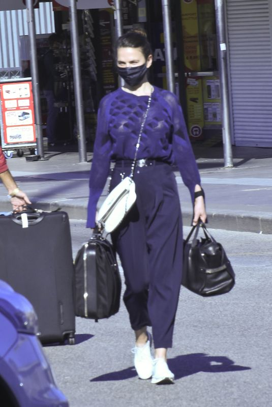 Hayley Atwell At Termini Station in Rome