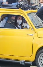 Hayley Atwell On the set of Mission Impossible 7 in Rome