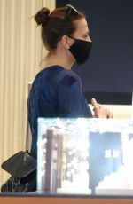 Hayley Atwell Shopping in downtown Rome