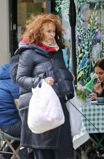 Helena Bonham Carter Enjoy a relaxed stroll with her boyfriend and their dogs in London