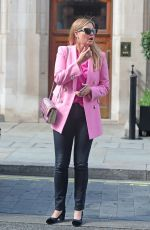 Holly Valance Out and about in London