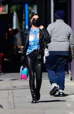 Irina Shayk Taking a stroll in New York