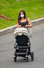 Jenna Dewan Out for a walk with her baby in LA