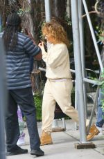 Jennifer Lopez Heading out to the airport in New York City