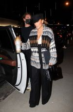 Jennifer Lopez Leaves a business meeting in Hollywood
