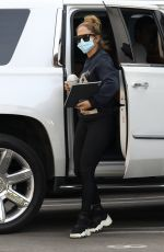 Jennifer Lopez Seen out for a business meeting in Beverly Hills