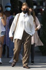 Jennifer Lopez Shopping with her girls on Rodeo Drive in Beverly Hills