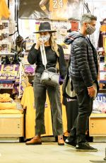 Jessica Alba Shops for Halloween costumes with husband Cash Warren in Westwood